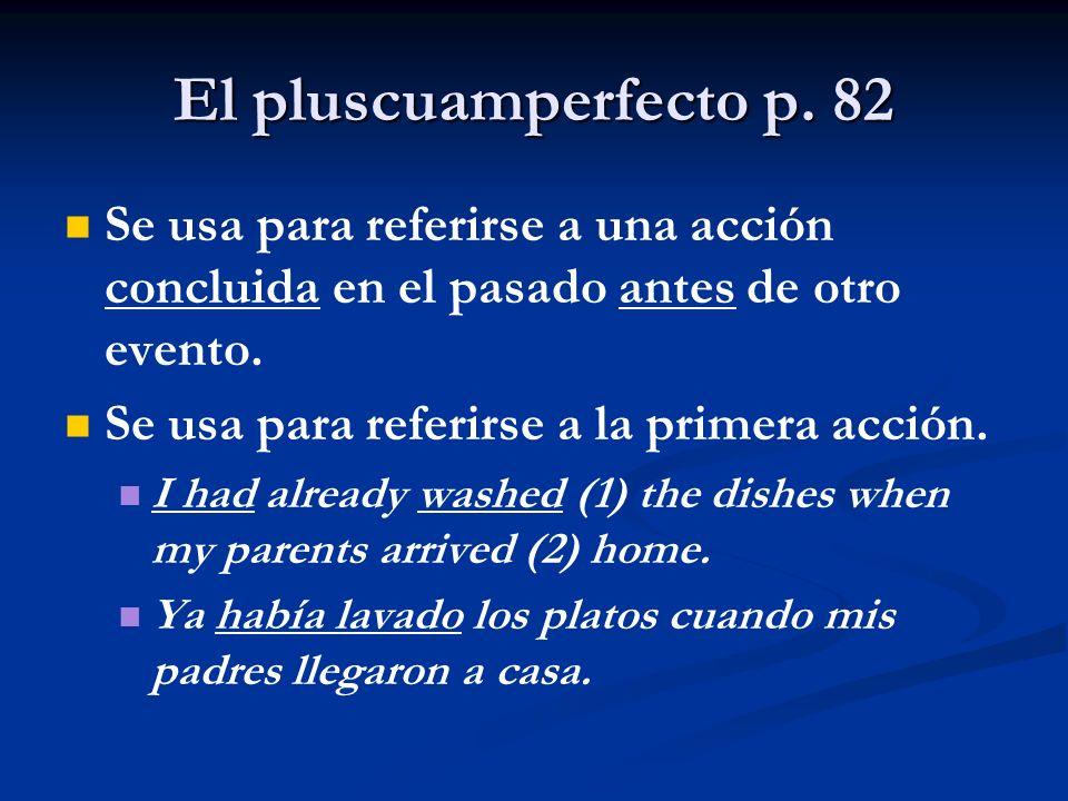 El pluscuamperfecto p.