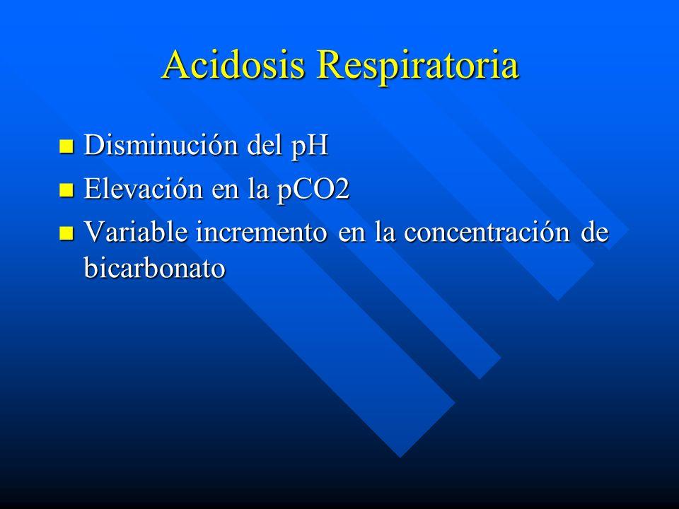 Alcalosis Metabólica Síntomas Compensada: Asintomática Compensada: Asintomática Hipoxia tisular Hipoxia tisular Depleción de volumen: debilidad, calam