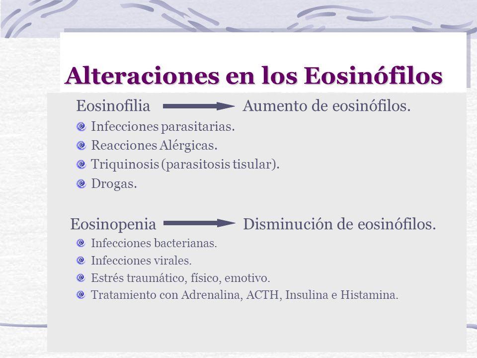 Alteraciones del nº de leucocitos LeucocitosisAumento del nº de leucocitos. Infecciones bacterianas piógenas. Inflamaciones. Cánceres. Quemaduras. Inf
