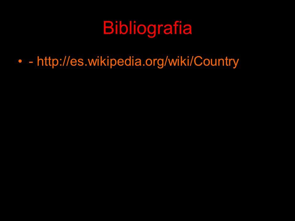 Bibliografia - http://es.wikipedia.org/wiki/Country