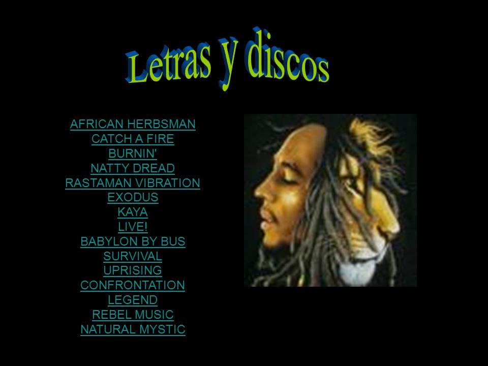 AFRICAN HERBSMAN CATCH A FIRE BURNIN NATTY DREAD RASTAMAN VIBRATION EXODUS KAYA LIVE.