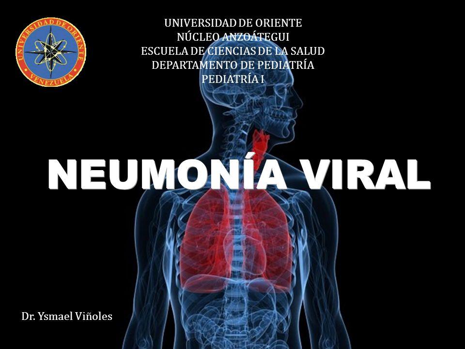 Proceso inflamatorio agudo del parénquima pulmonar que ocurre como respuesta a la proliferación incontrolada de organismos patógenos.