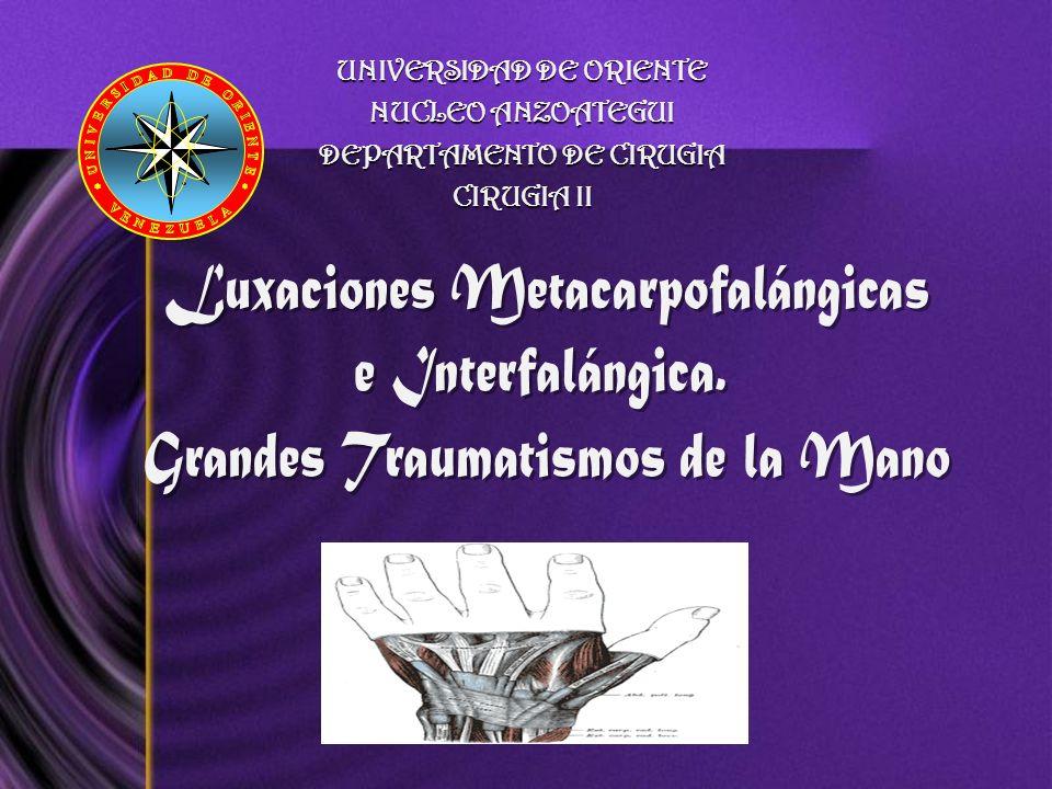 UNIVERSIDAD DE ORIENTE NUCLEO ANZOATEGUI DEPARTAMENTO DE CIRUGIA CIRUGIA II