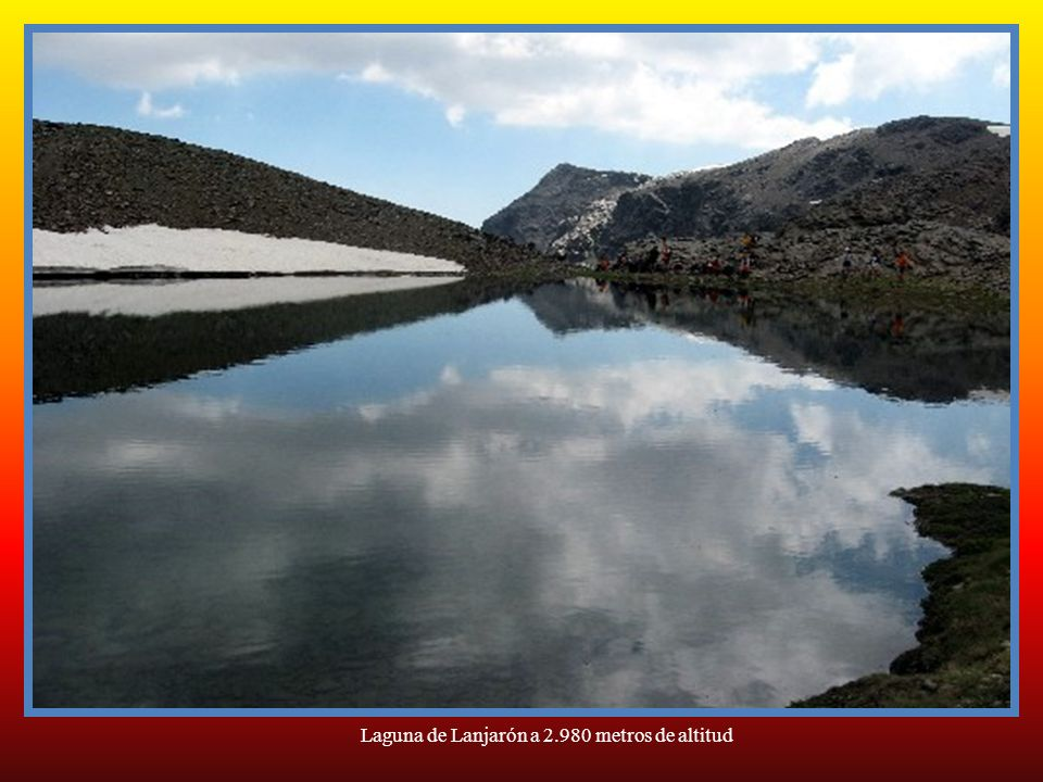Laguna de Aguas Verdes a 3.050 metros de altitud