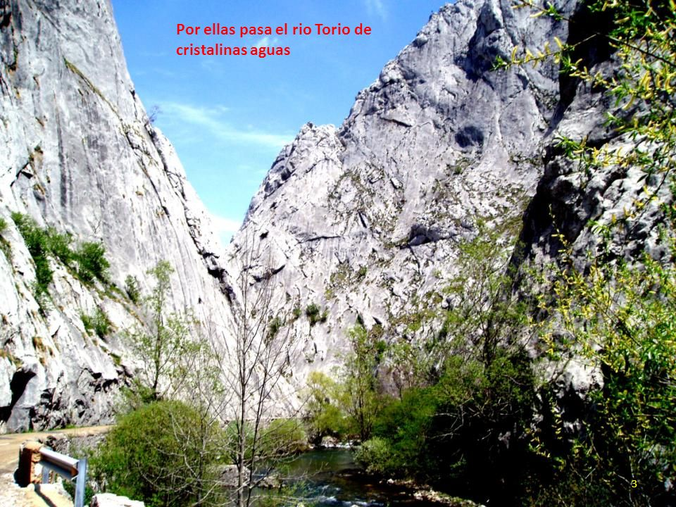 Por ellas pasa el rio Torio de cristalinas aguas 3