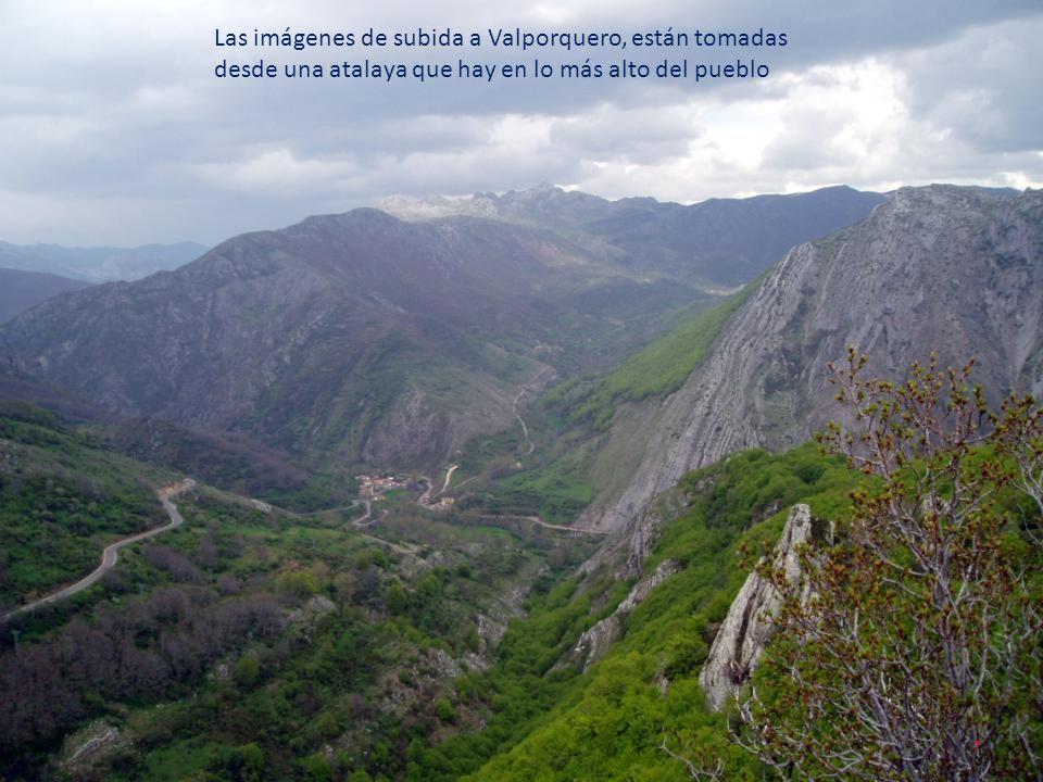 Las imágenes de subida a Valporquero, están tomadas desde una atalaya que hay en lo más alto del pueblo 7