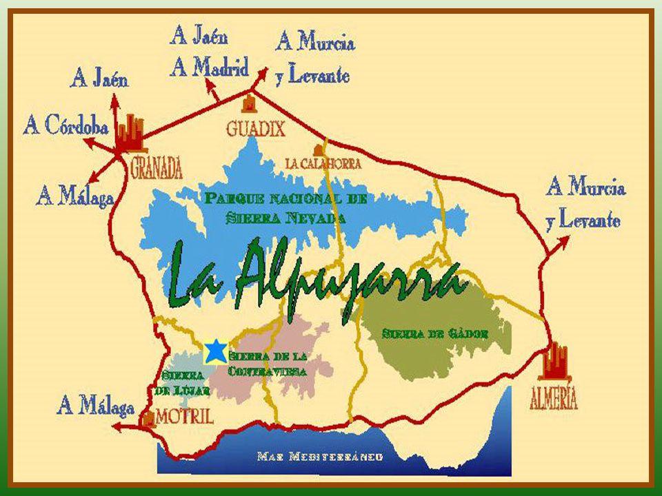 La Alpujarra es una región histórica andaluza. Se encuentra dividida entre las provincias de Granada y de Almería, en las faldas de la ladera sur de S