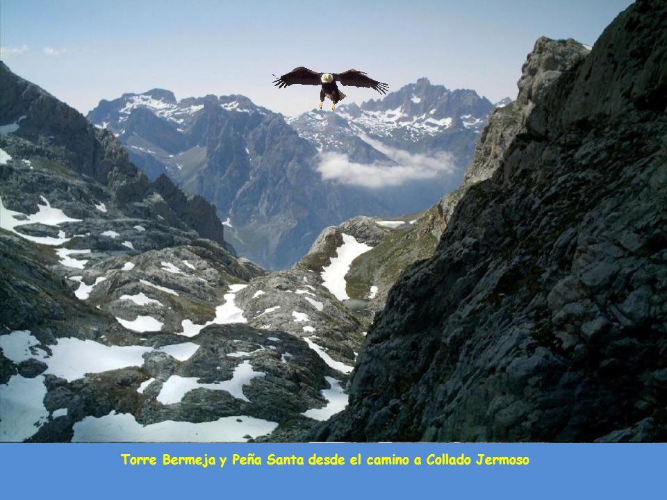 2.200 metros de desnivel desde la cumbre del Torrecederro hasta el pueblo de Caín en León