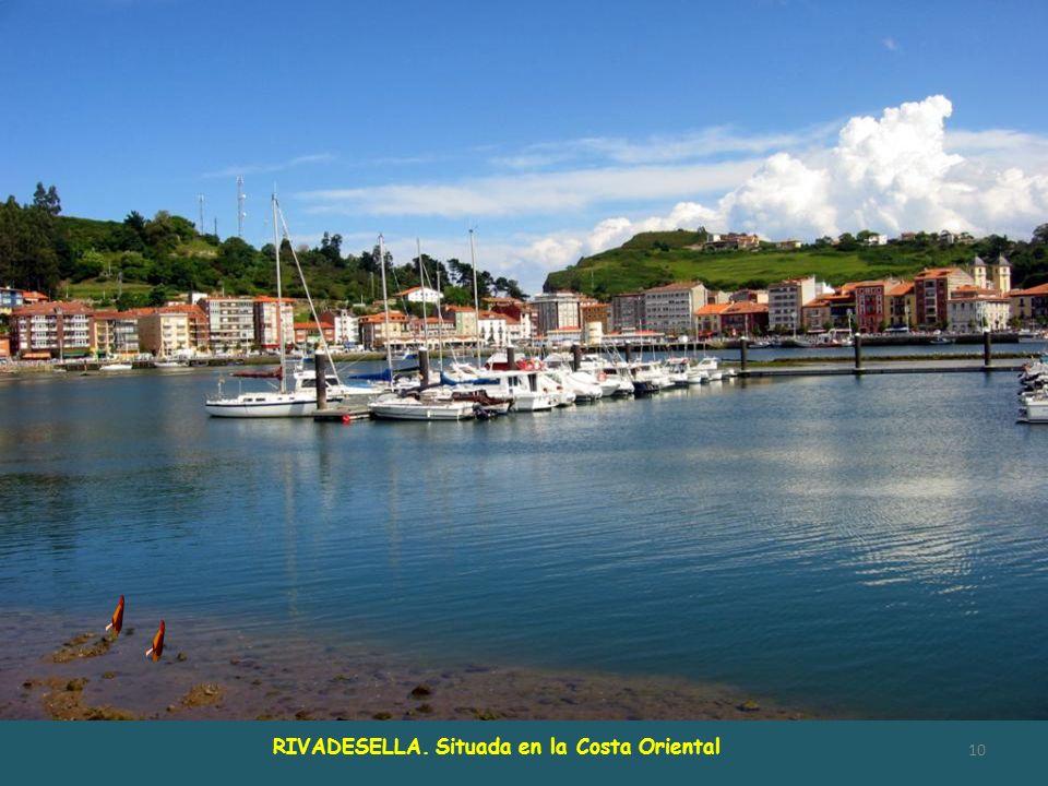 Nace en Fonseya (Sajambre- León), desemboca en el Cantábrico, entre Punta Caballo y playa Santa Marina, formando la ría de RIBADESELLA. El Sella es un