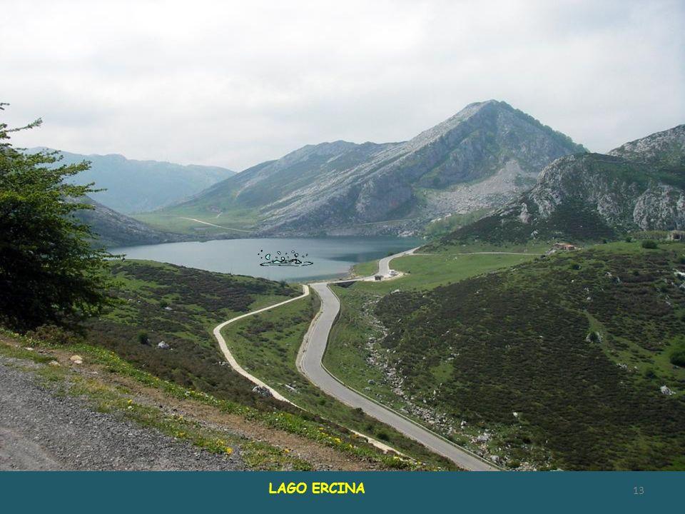 LAGO ENOL, próximo al Lago ERCINA. Juntos forman el conjunto conocido como LAGOS DE COVADONGA 12