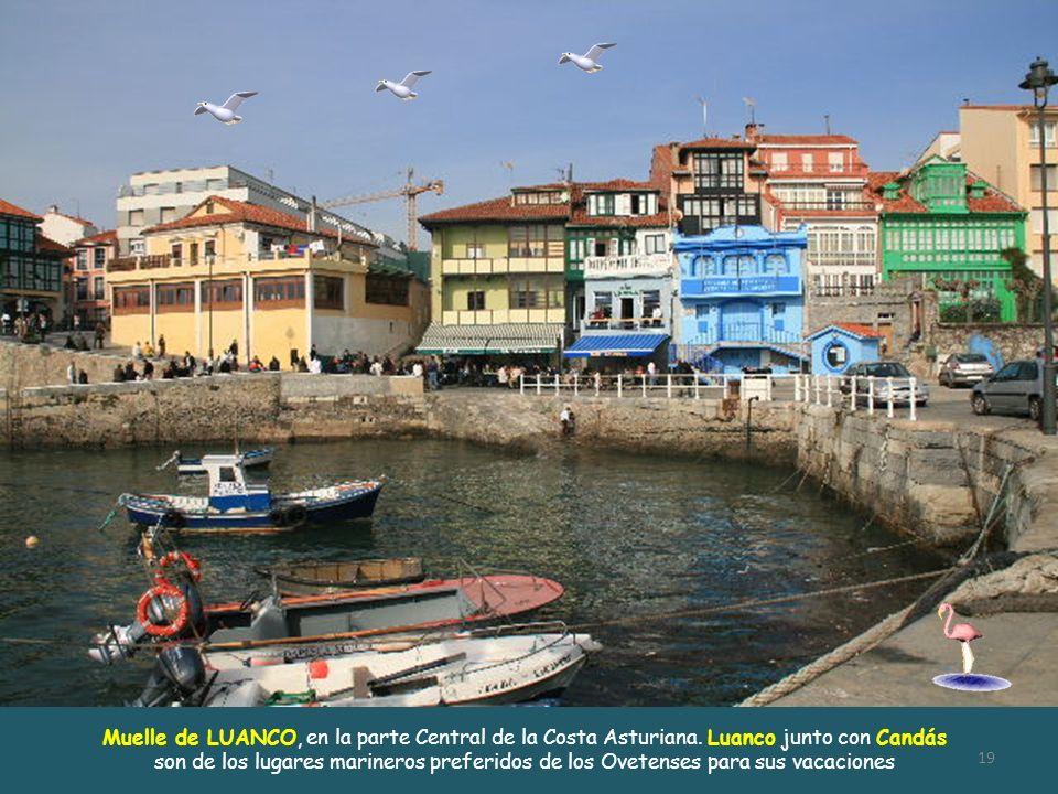 En Candás, parte Central de la Costa Asturiana, se celebra el famoso Festival de la Sardina el 1 de Agosto. En la fiesta del Santísimo Cristo de Candá