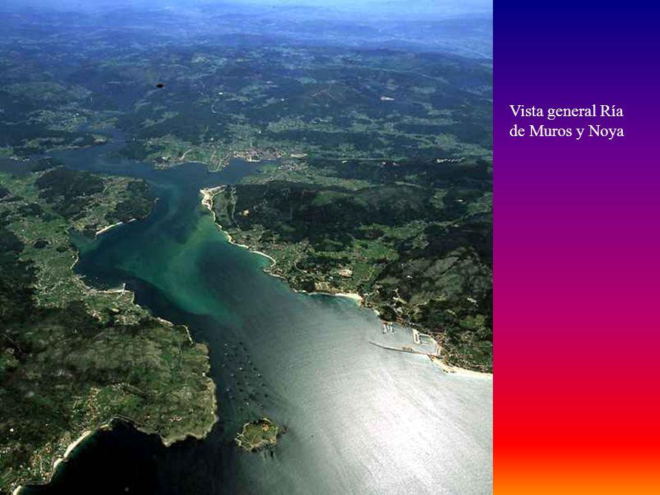 La Ría de Muros y Noya, está situada entre la Ría de Corcubión al norte y la Ría de Arosa al sur. Está en la provincia de La Coruña y la península del
