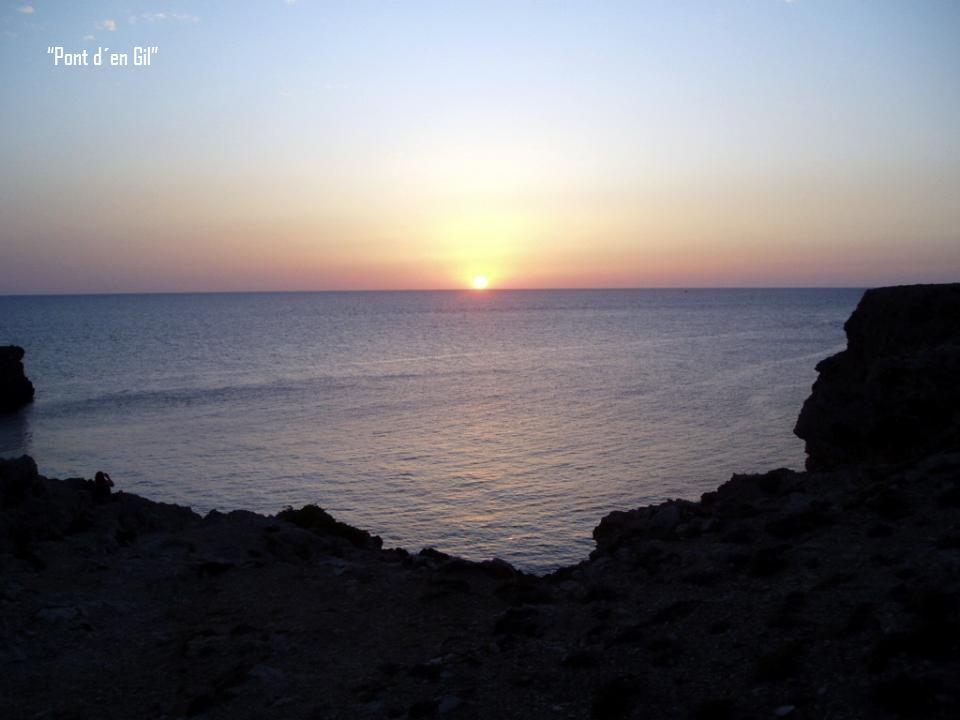 Pon d´en Gil, está en el extremo Norte de la Isla a 6 km. De Ciutadella