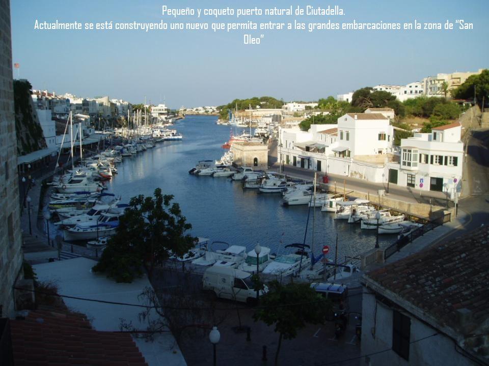 Puerto de Mahón. Es el segundo puerto natural de Europa.