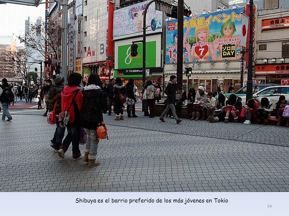 El barrio de Shibuya en plenas rebajas de Enero. 33