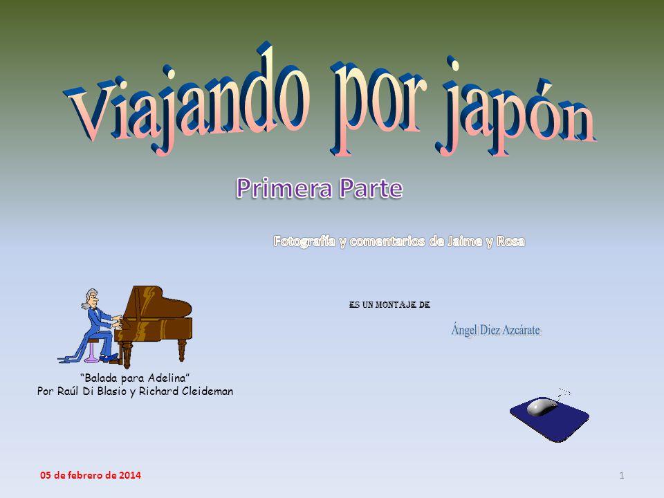 Es un montaje de 1 Balada para Adelina Por Raúl Di Blasio y Richard Cleideman 05 de febrero de 2014