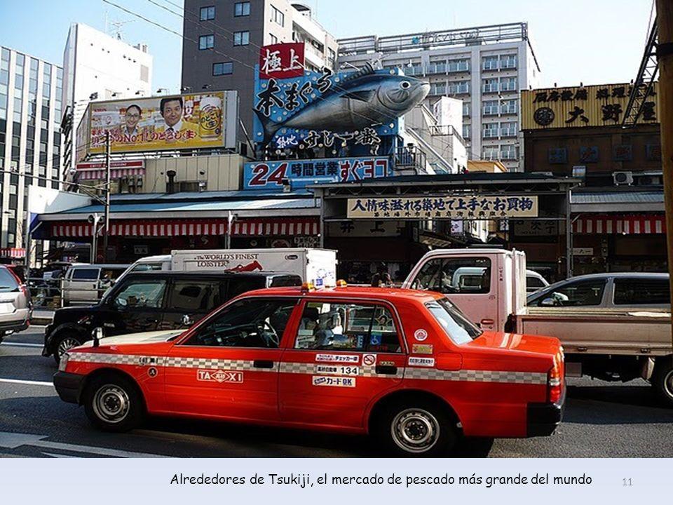 Mercado exterior de Tsukiji (Tokio) 10