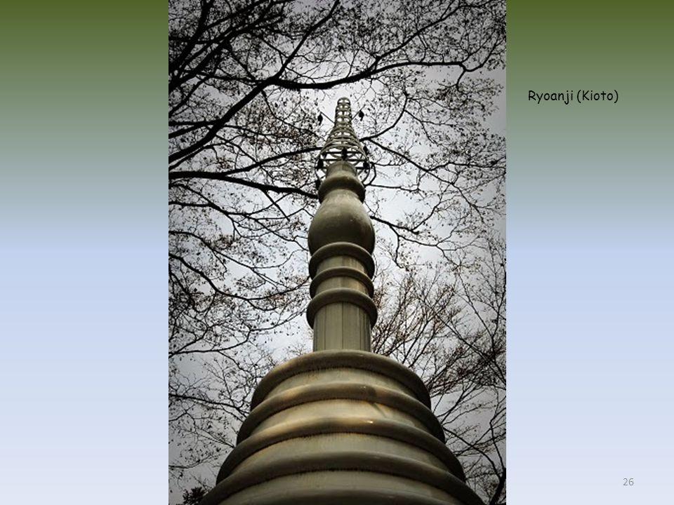 Estanque en el complejo de templos de Ryoanji (Kioto) 25