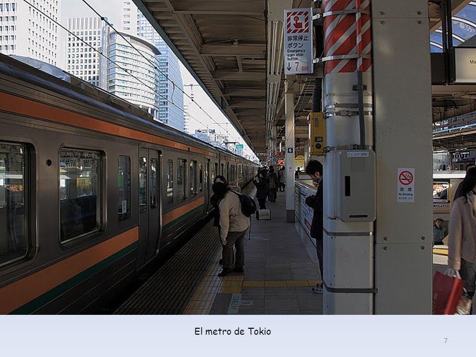 El metro de Tokio 7