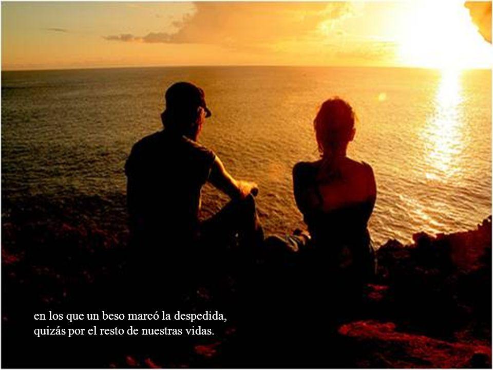 Te espero cuando miremos al cielo de noche: tu allá, yo aquí, añorando aquellos días….