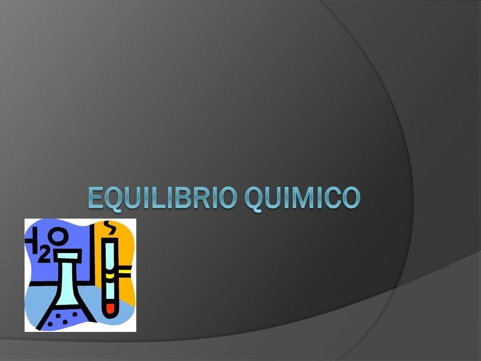 Equilibrios homogéneos y heterogéneos Los equilibrios en los cuales todos los componentes se encuentran en la misma fase se consideran equilibrios homogéneos.