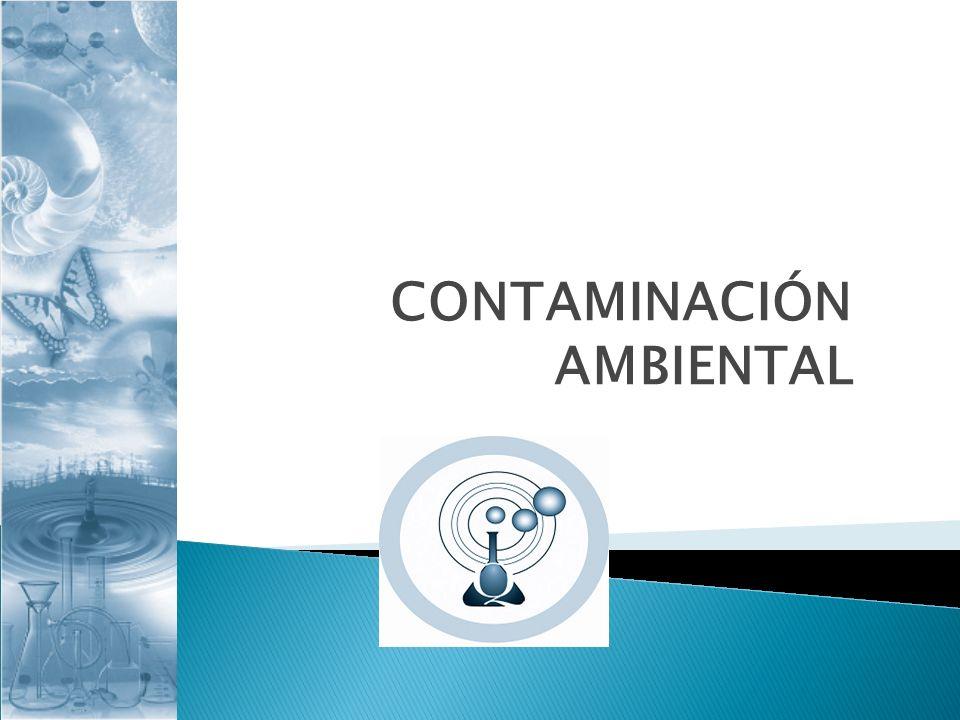 Concepto de contaminación. Contaminación del aire. Contaminación del agua.