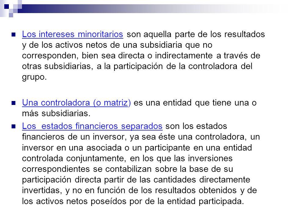 Una subsidiaria (o filial) es una entidad controlada por otra (conocida como controladora o matriz).