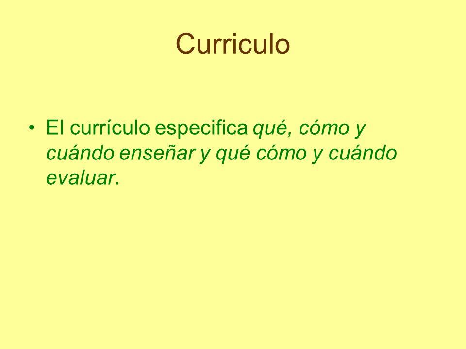 Curriculo El planteamiento curricular adoptado por la Administración es el de un currículo abierto y flexible, que nunca está definitivamente concluido y que se ha de ir completando por las diversas instancias y niveles de concreción.