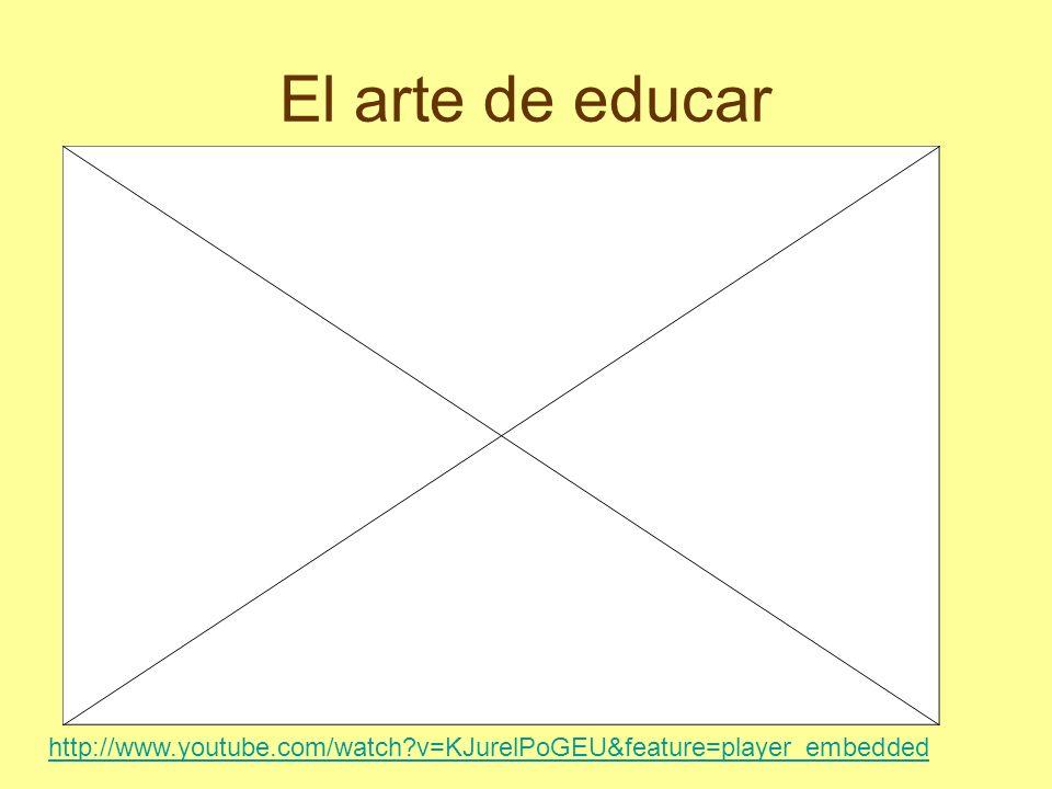 El arte de educar http://www.youtube.com/watch?v=KJurelPoGEU&feature=player_embedded