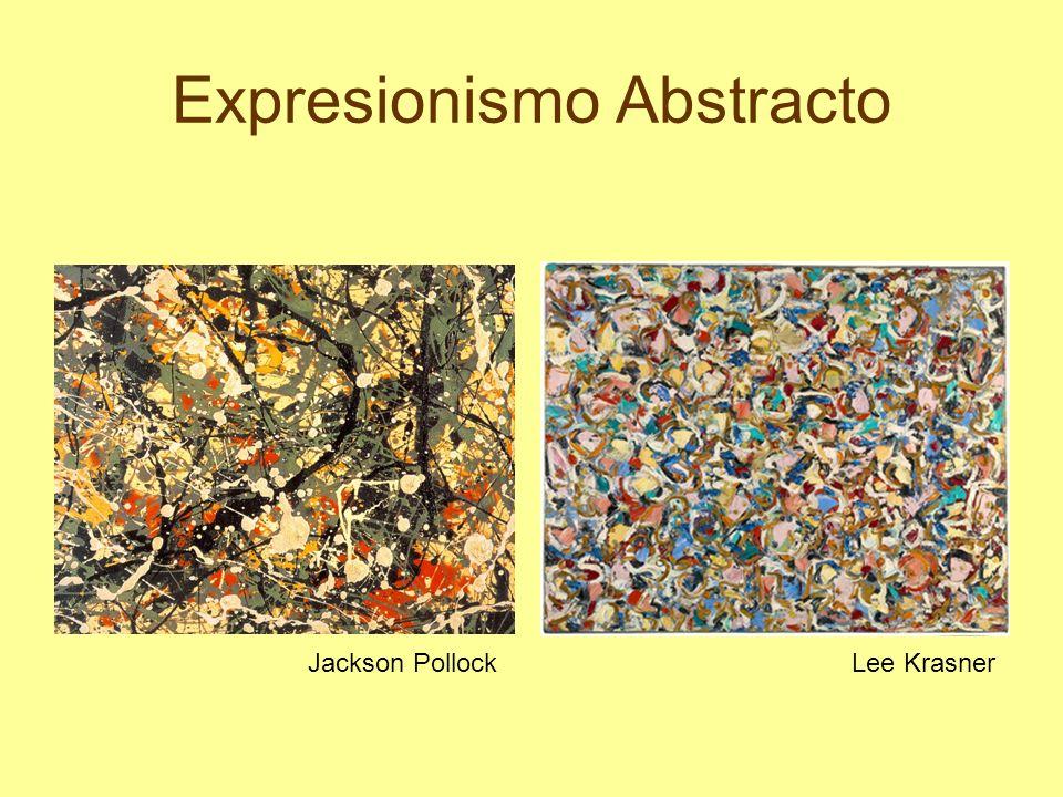 Expresionismo Abstracto Jackson PollockLee Krasner