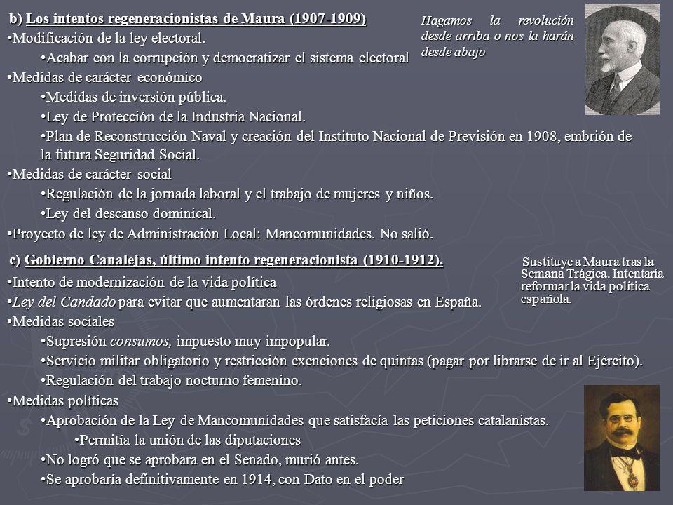 Primo de Rivera resolvió el problema de Maruecos, las luchas sociales estaban acalladas por la bonanza económica, pero no solucionó el problema nacionalista y buscó la confrontación con quienes le habían apoyado: Persigue la lengua catalana.Persigue la lengua catalana.