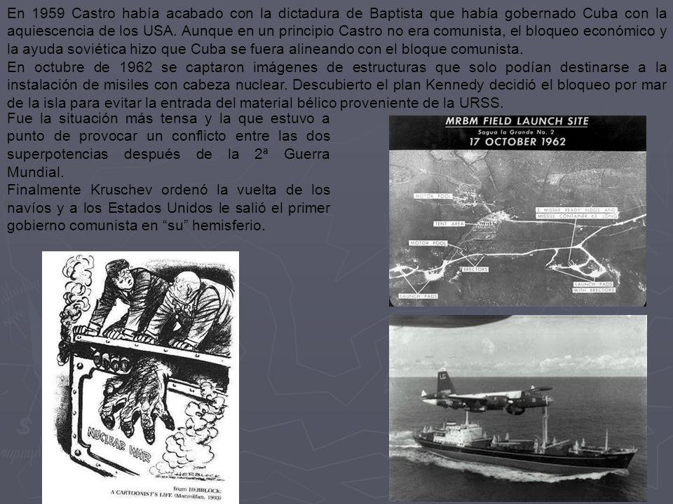 El abandono francés de Indochina, consecuencia de la 2ª Guerra Mundial, y que los vietnamitas lucharan y consiguieran derrotar a los japoneses, hizo v