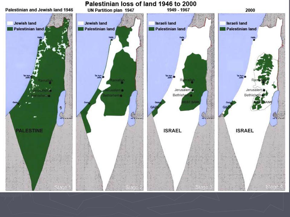 6.3 Oriente Medio En Palestina, protectorado inglés, de mayoría musulmana existía una importante colonia judía. En la Declaración Balfour (1917) se in