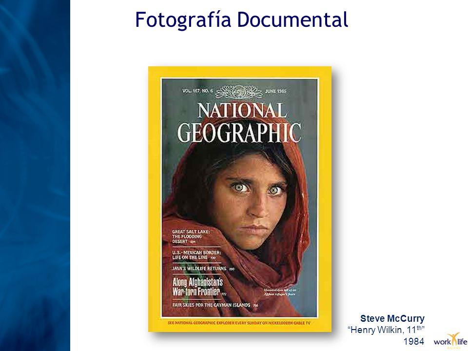Fotografía Documental Steve McCurry Henry Wilkin, 11 th 1984