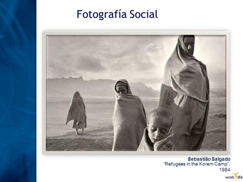 Fotografía Social Sebastião SalgadoRefugees in the Korem Camp, 1984