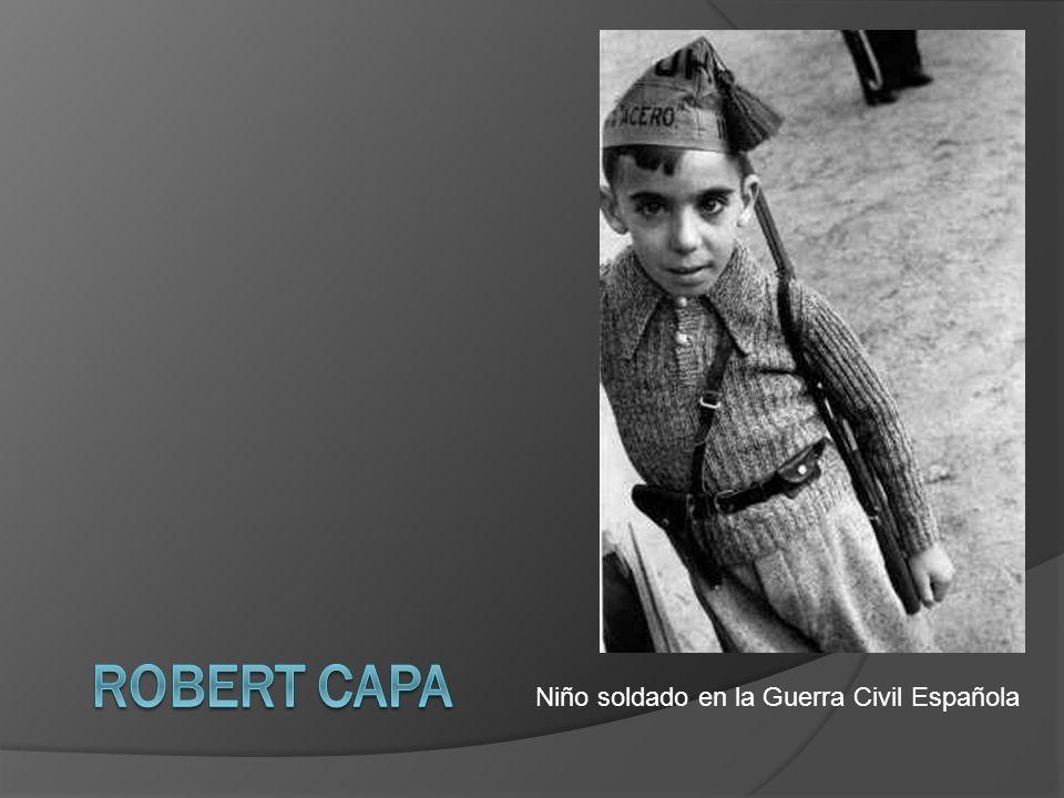 Niño soldado en la Guerra Civil Española