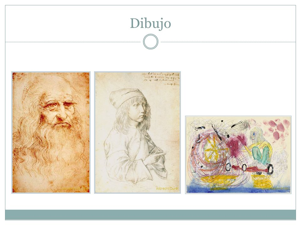 Dibujo Leonardo Da VinciAlbrecht Durer Chris Hammerlein