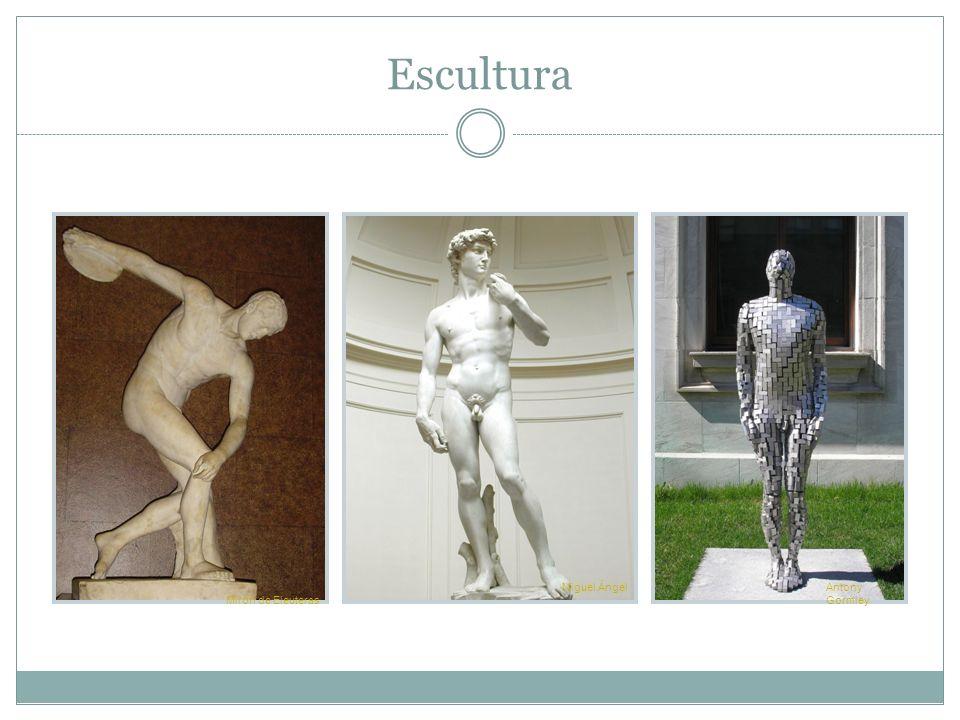 Escultura Mirón de Eleuteras Miguel ÁngelAntony Gormley