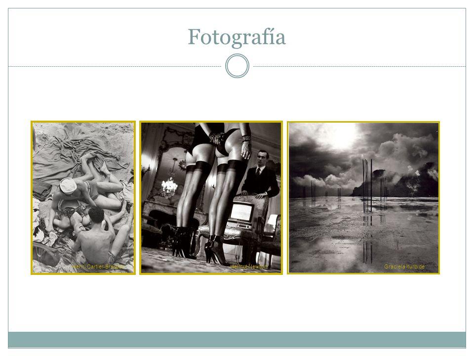 Fotografía Henri Cartier-BressonHelmut NewtonGraciela Iturbide