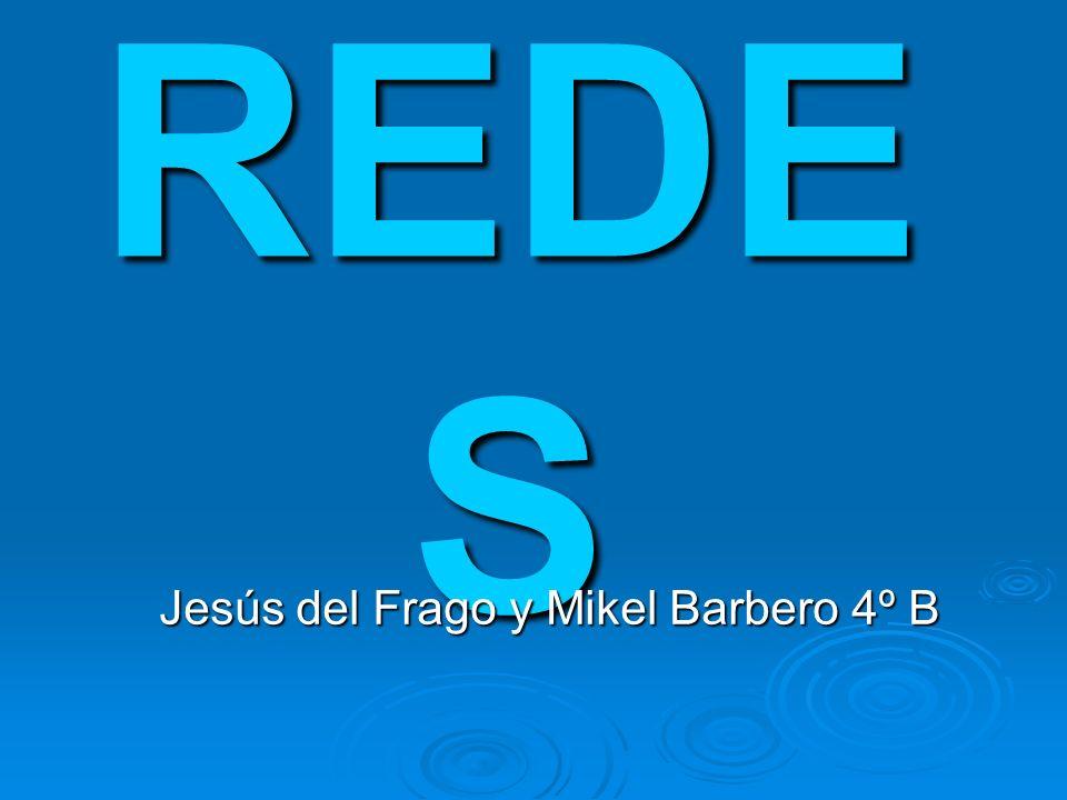 REDE S Jesús del Frago y Mikel Barbero 4º B