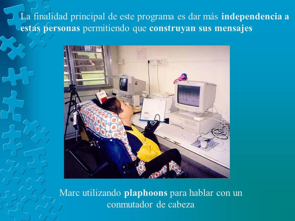 DEMOSTRACION DE UN SOFTWARE Es un programa informático que permite a las personas no orales comunicarse mediante símbolos gráficos (fotos, pictogramas