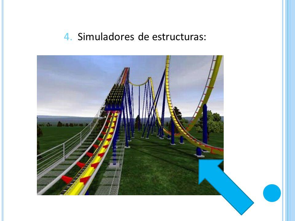 4. Simuladores de estructuras: