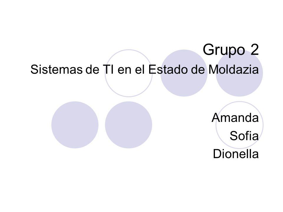 Grupo 2 Sistemas de TI en el Estado de Moldazia Amanda Sofia Dionella
