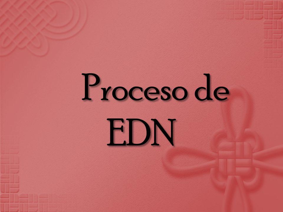 Proceso de EDN