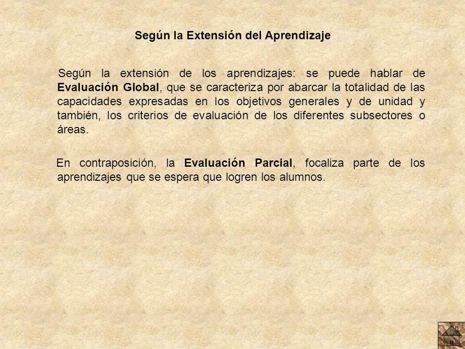 Según el Agente Evaluador Hay Evaluaciones Internas que son realizadas por las personas que participan directamente de la experiencia educativa, y Ext