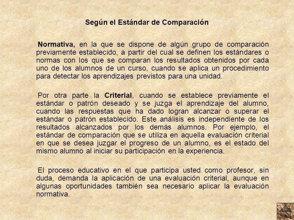 Según la Extensión del Aprendizaje Según la extensión de los aprendizajes: se puede hablar de Evaluación Global, que se caracteriza por abarcar la tot
