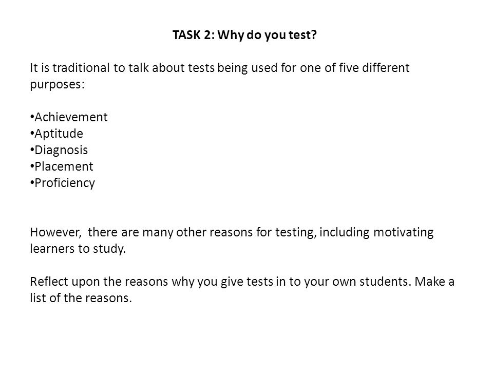 ASSESSMENT AS LEARNING Reflection task Think about an example of assessment as learning in your own teaching and how it has influenced your teaching and students´ learning.