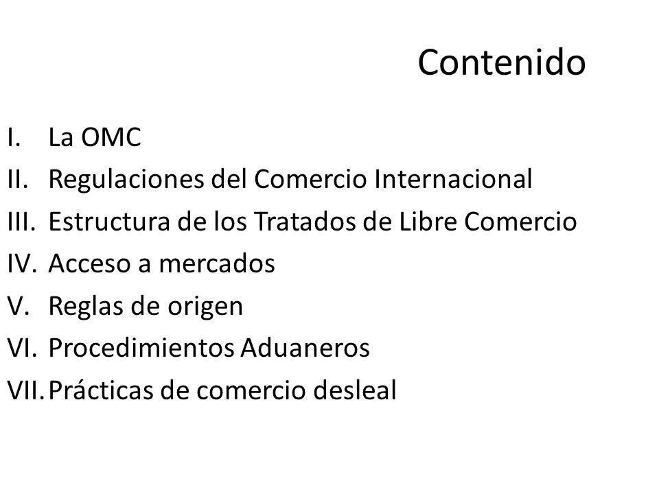 La OMC es el ú nico órgano internacional que se encarga de definir las normas del comercio entre los países.