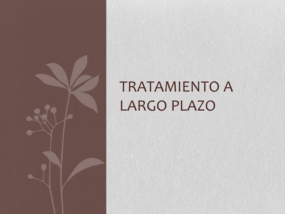 TRATAMIENTO A LARGO PLAZO