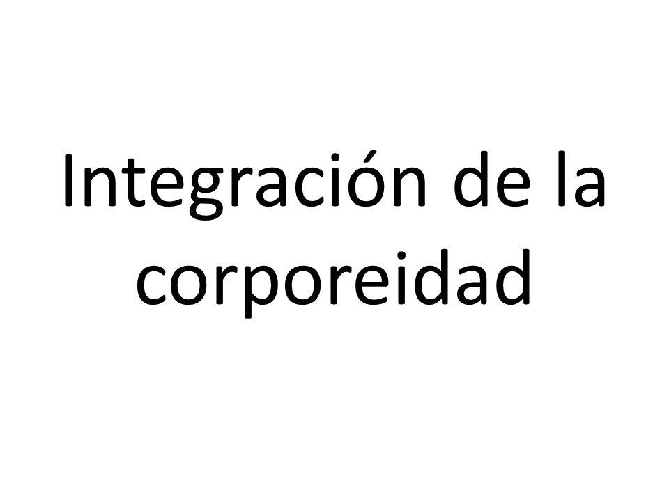 Integración de la corporeidad